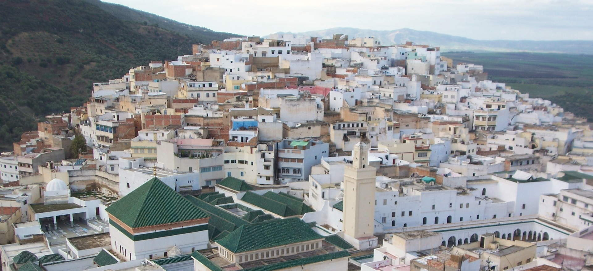 moulay idriss vue arienne chadia tours
