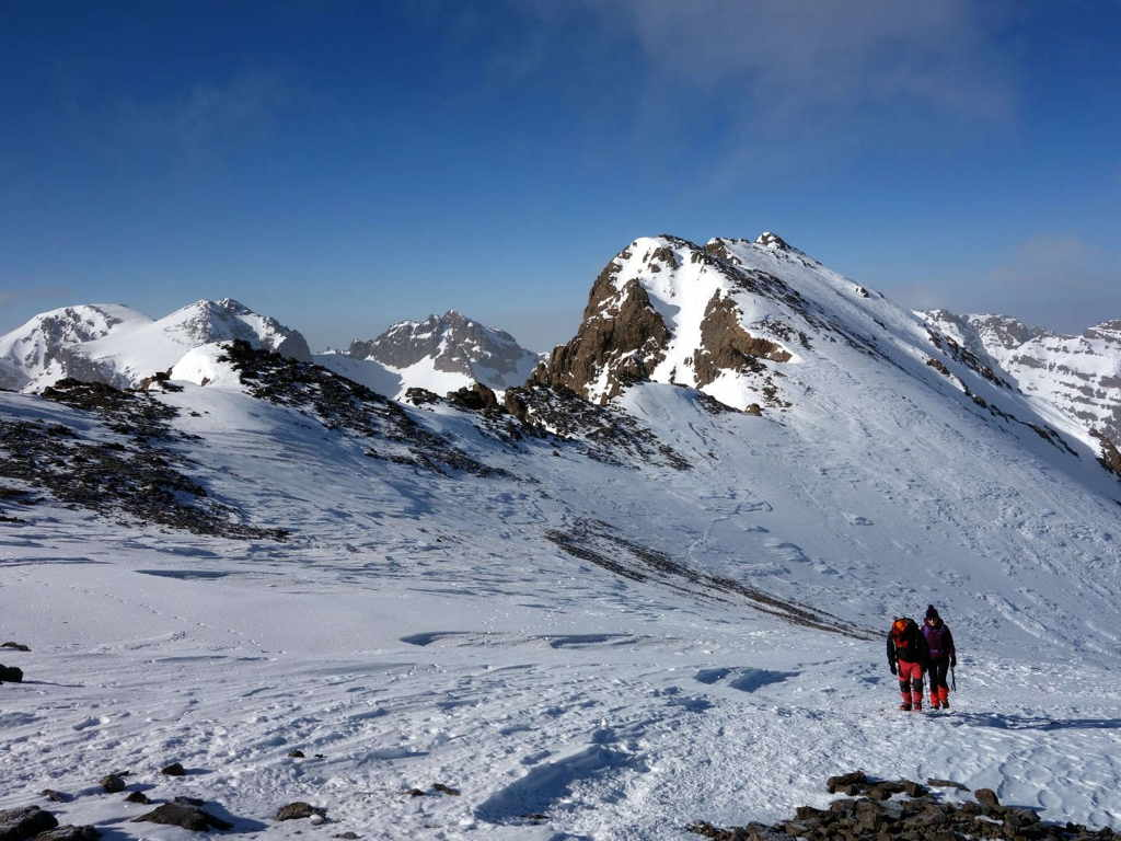 Winter ascent of Jebel Toubkal