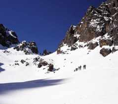 Ski tours in the High Atlas